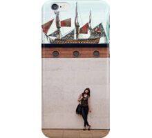 A day out in Greenwich - Ship in a bottle iPhone Case/Skin