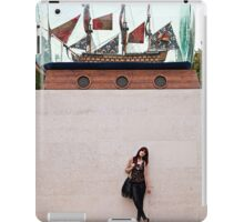 A day out in Greenwich - Ship in a bottle iPad Case/Skin