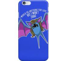 PokéPun - 'But I Won't Zubat' iPhone Case/Skin