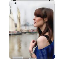 A day out in Greenwich - Tall masted ships iPad Case/Skin