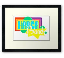 Harea band LOGO (Colorized) Framed Print