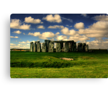 A Stonehenge Morning Canvas Print