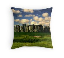 A Stonehenge Morning Throw Pillow