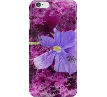 The Kale & The Pansy iPhone Case/Skin