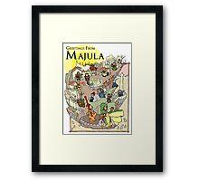 Dark Souls 2 - Greetings From Majula Framed Print