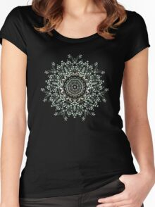 Delicate Nature Women's Fitted Scoop T-Shirt