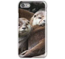 Oriental small-clawed otter iPhone Case/Skin