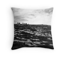 Tiny People Throw Pillow