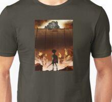 Attack on Teen Titanfall Unisex T-Shirt