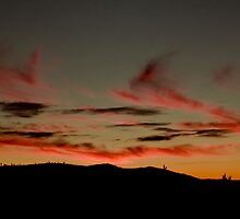 Mt Stromlo Fire by Bart Reardon
