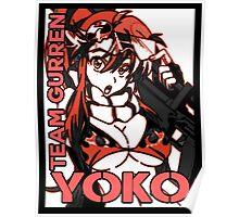 Yoko Team Gurren Poster