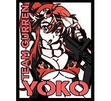 Yoko Team Gurren Photographic Print