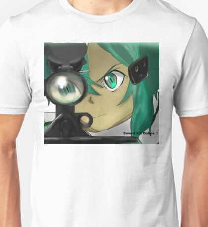 Sinon SAO GGO Unisex T-Shirt