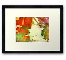 auto deception Framed Print