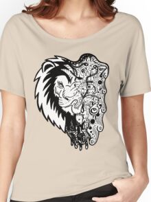 Psychedelly Lion Women's Relaxed Fit T-Shirt