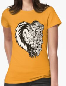 Psychedelly Lion Womens T-Shirt