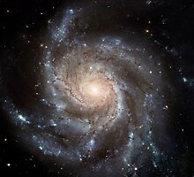Hubble Space Telescope Print 0001 - Hubble's Largest Galaxy Portrait Offers a New High-Definition View by wetdryvac