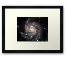 Hubble Space Telescope Print 0001 - Hubble's Largest Galaxy Portrait Offers a New High-Definition View Framed Print