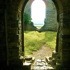 Through the Arches at Burrow Mump by lezvee