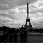 Rainy day in Paris by Timana