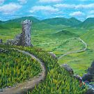 The Castle Ruins by Gary Adams