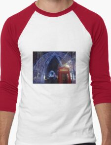 Soho London Christmas 2014 Men's Baseball ¾ T-Shirt