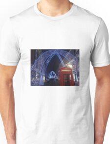Soho London Christmas 2014 Unisex T-Shirt