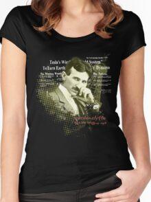 Tesla Wardenclyffe Women's Fitted Scoop T-Shirt