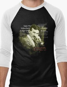 Tesla Wardenclyffe Men's Baseball ¾ T-Shirt