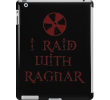 I Raid with Ragnar iPad Case/Skin