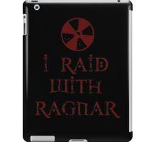 I Raid with Ragnar iPad Case/Skin
