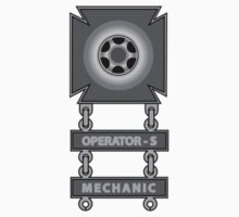Driver Badge With Operator 'S' and Mechanic Bars by VeteranGraphics