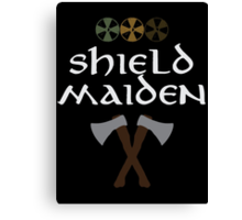 Shield Maiden Canvas Print