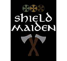 Shield Maiden Photographic Print
