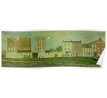 Glynn's Mills, Frances Street, Kilrush, Co. Clare (15 x 5 inches) Poster