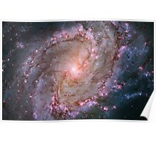 Hubble Space Telescope Print 0003 - Spiral Galaxy M83  - hs-2014-04-a-full_jpg Poster