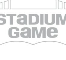 2015 Stadium Game - White Text Sticker