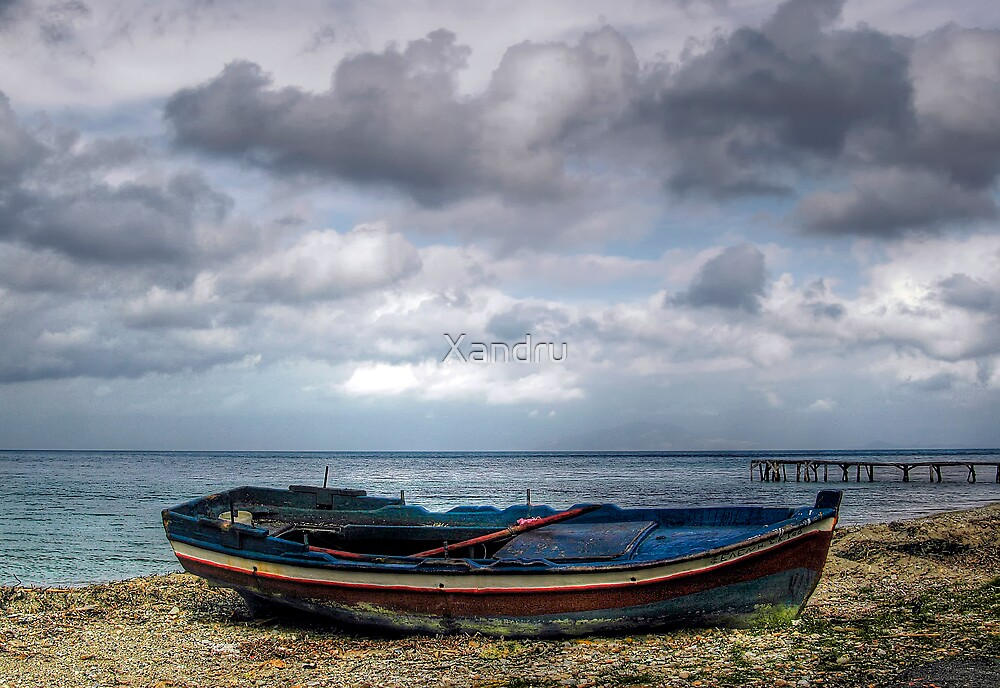 Abandoned Boat by Xandru