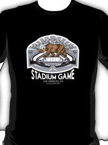2014 LA Stadium Game T-Shirt (White Text) T-Shirt