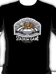2014 LA Stadium Game T-Shirt (White Text) T-Shirt
