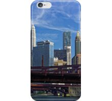 Chicago river cruise view towards  Dearborn Street Bridge iPhone Case/Skin