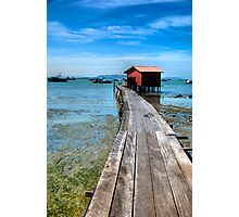 clan jetty  Photographic Print