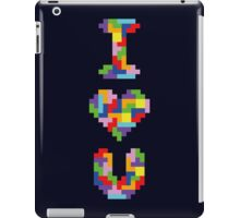 """""""I Love You"""" - Tetris  iPad Case/Skin"""
