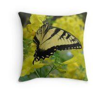Butterfly in the Esperanza Throw Pillow