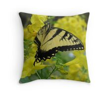 Butterfly in the Esperanza Throw Pillow