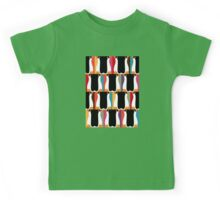 herringbone penguin Kids Tee
