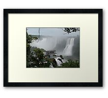 Iguazu Falls  South America Framed Print