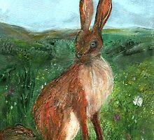 The Hare by Carol Rowland