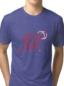 The wooly mammoth Tri-blend T-Shirt