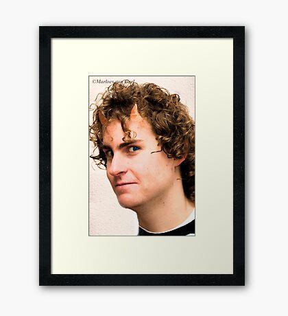 Puck Framed Print